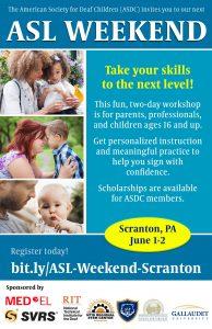 ASL Weekend Scranton PA
