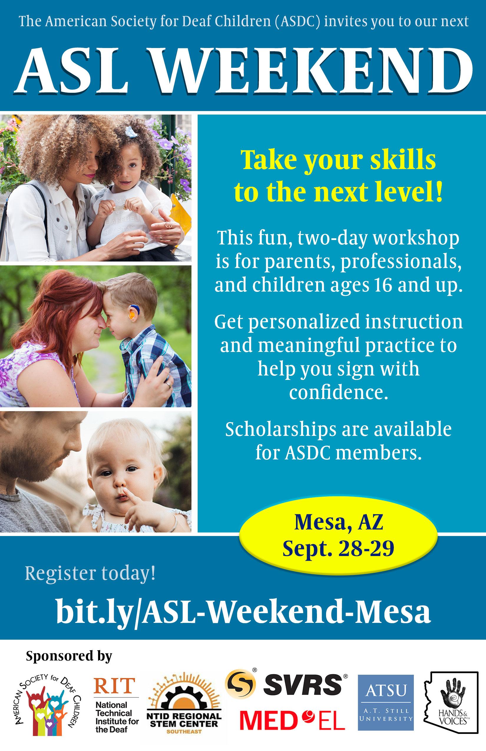 ASL Weekend Mesa AZ 2019