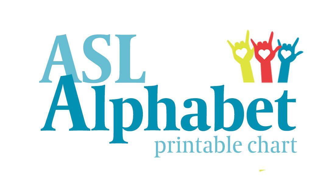 Free ASL Alphabet Chart