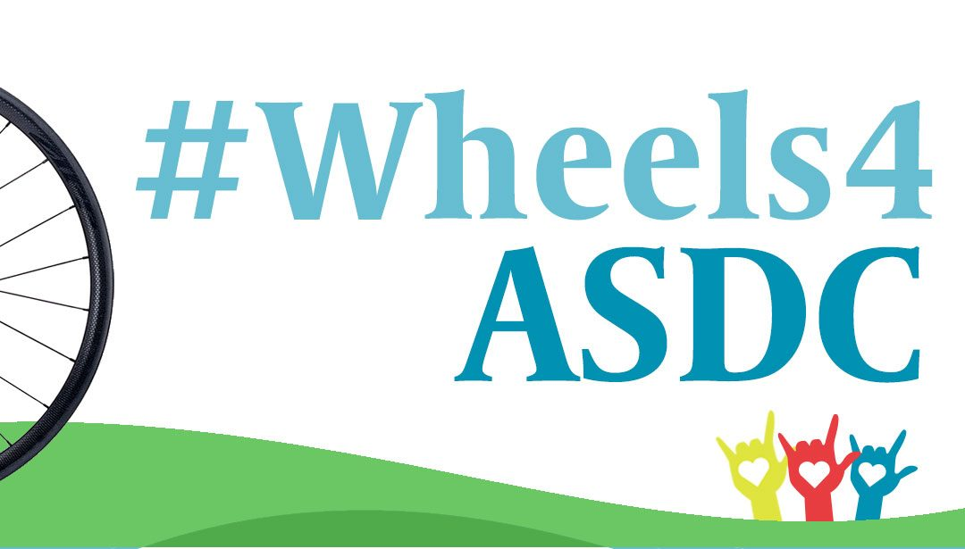 The Bike Journey Begins! #Wheels4ASDC