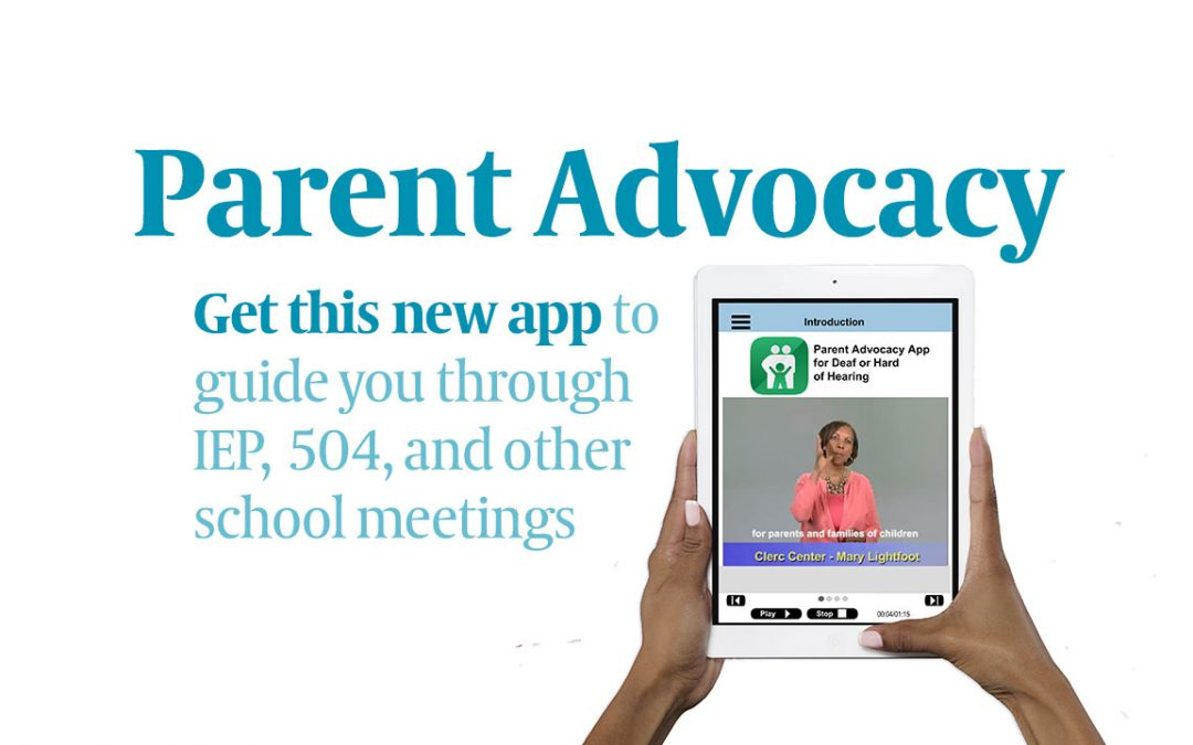 NEW! Parent Advocacy App