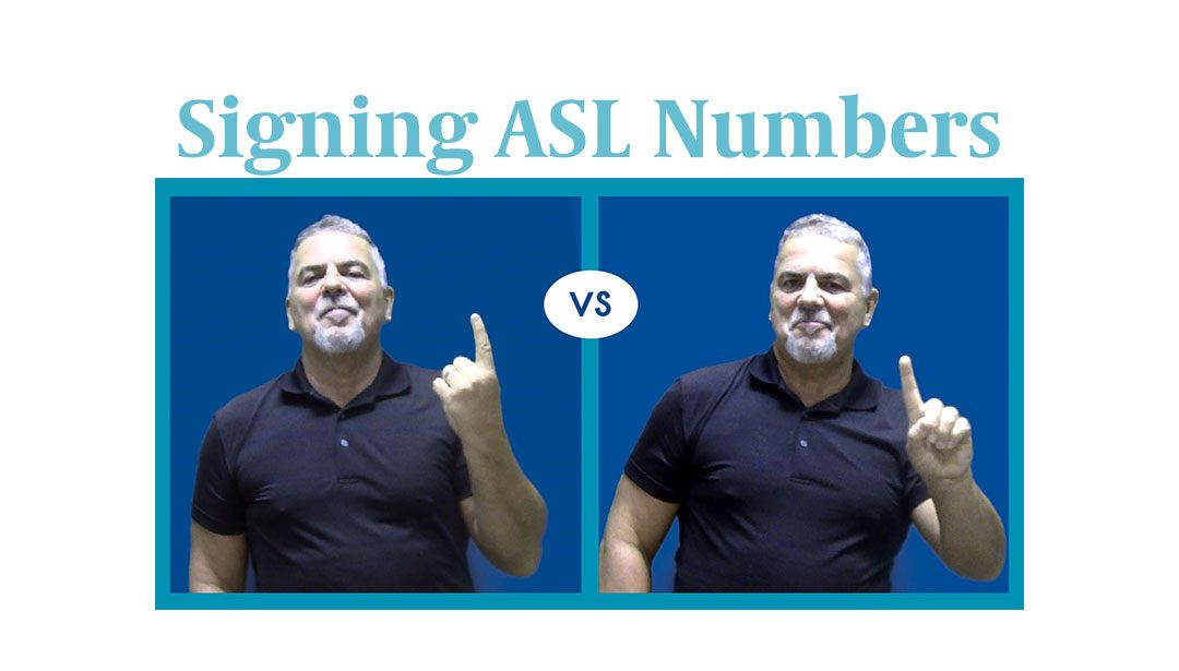 Video: Signing Numbers in ASL