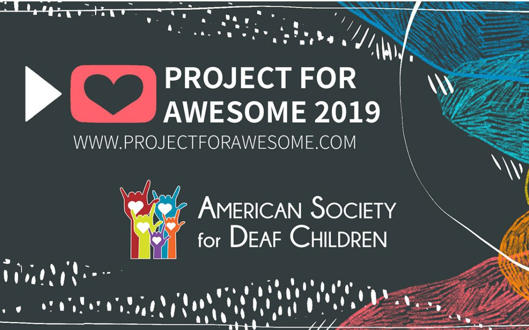 Vote for ASDC! Project for Awesome 2019