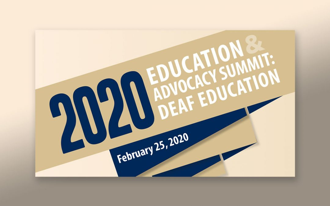 Deaf Education Summit 2020