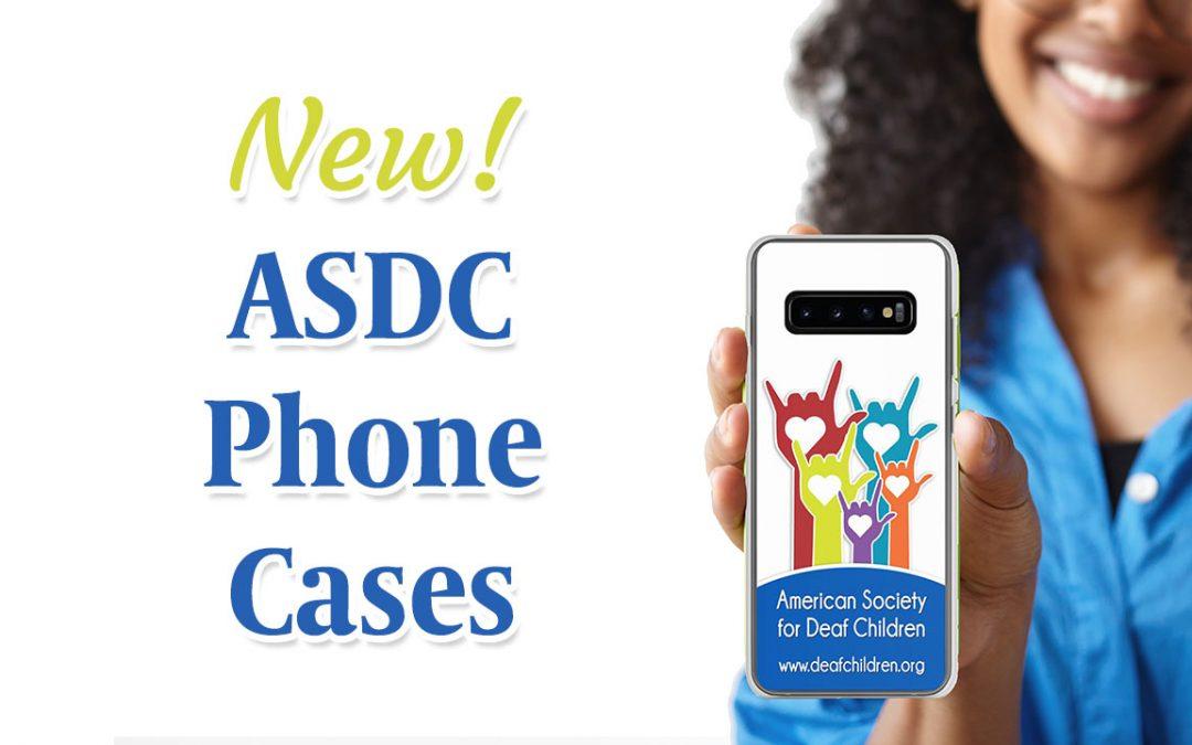 New! ASDC Phone Cases