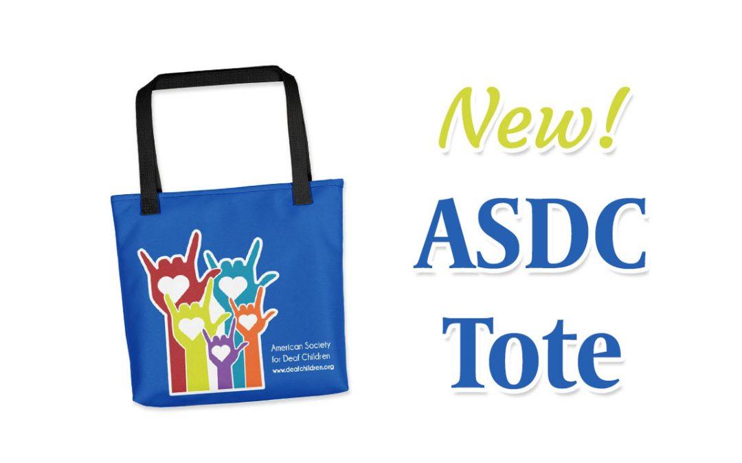 New! ASDC Tote Bags