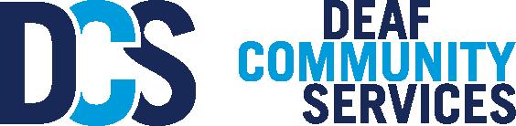 Deaf Community Services logo