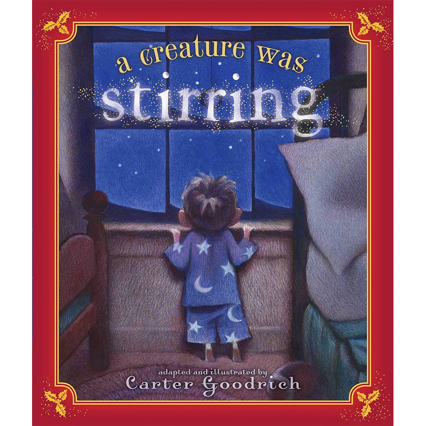 "image shows cover of book ""A Creature Was Stirring"""