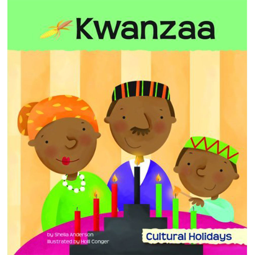 image shows cover of Kwanzaa book