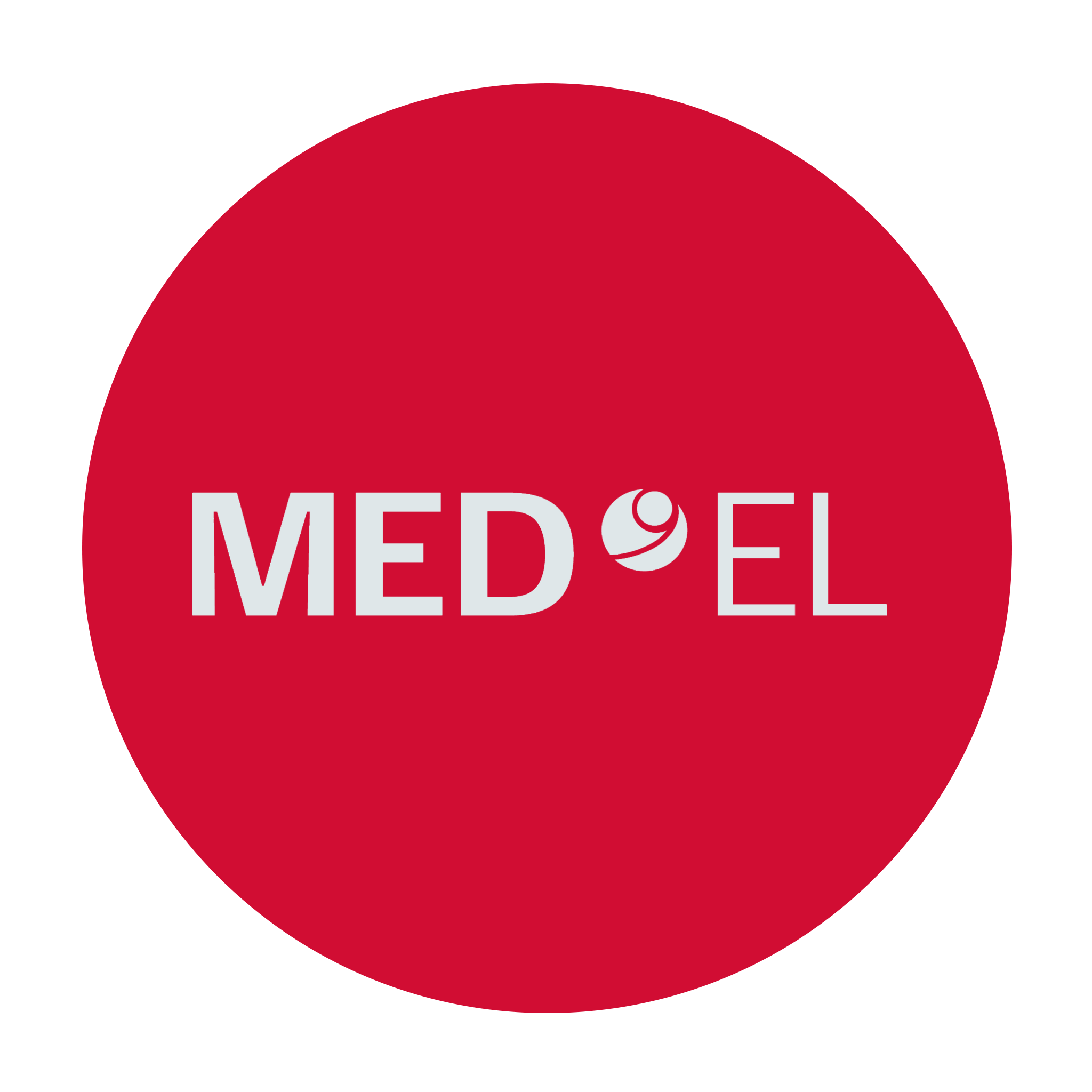 med-el logo in red circle