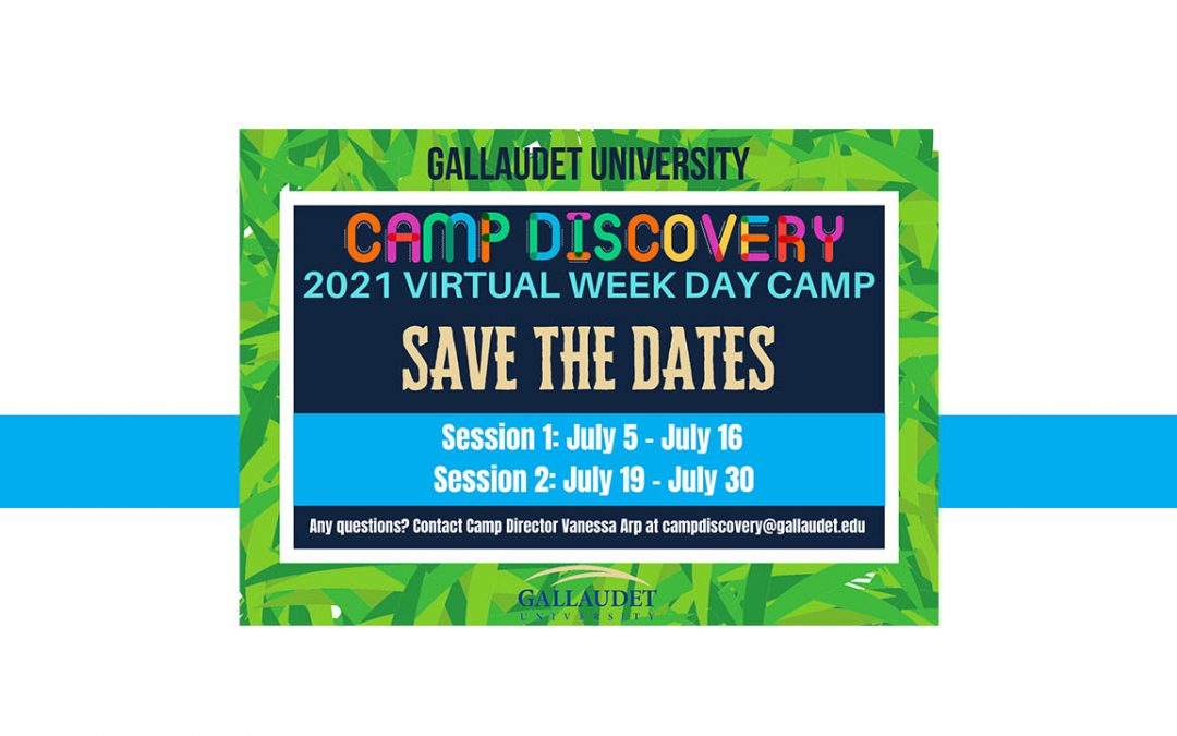 Save the Date: Camp Discovery 2021