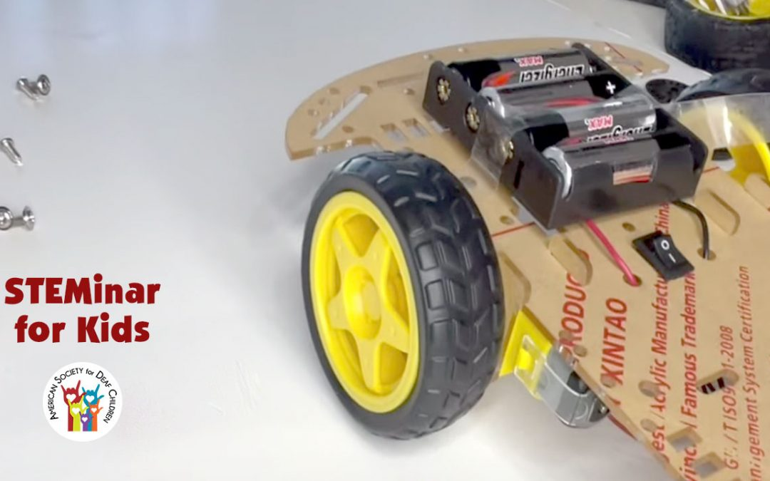 May STEMinar For Kids: Make A Motorized Car!