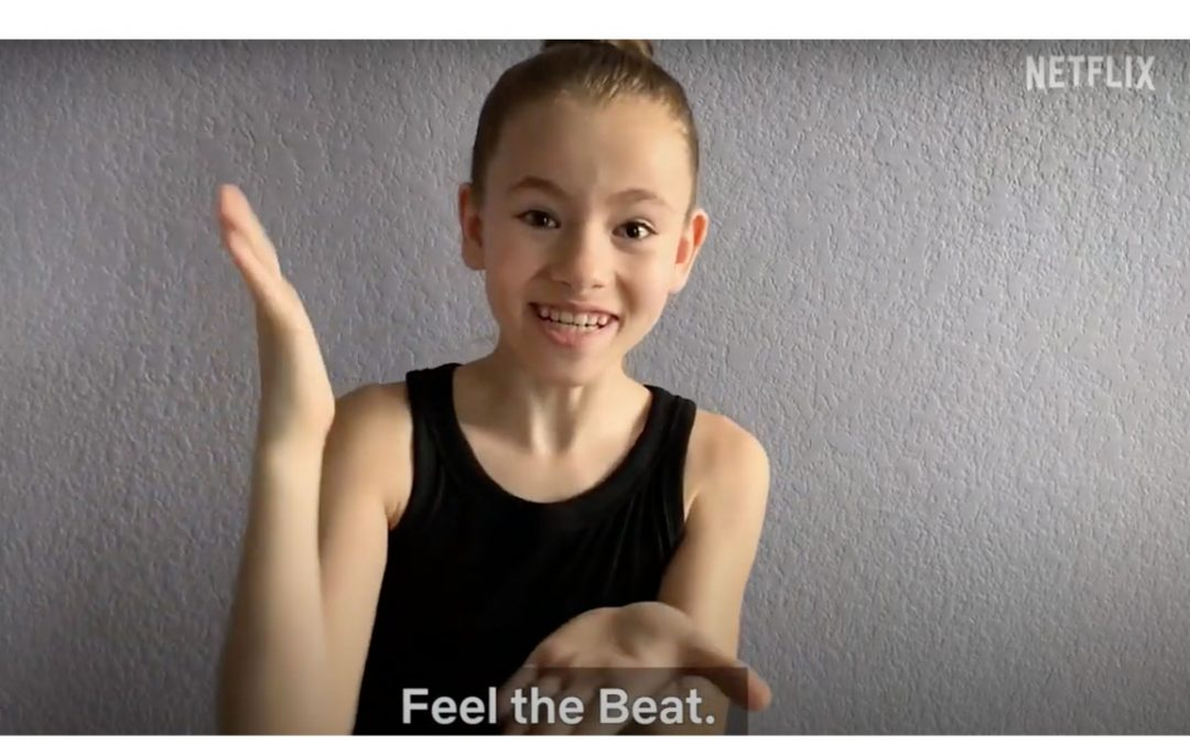 shaylee from Netflix's Feel the Beat