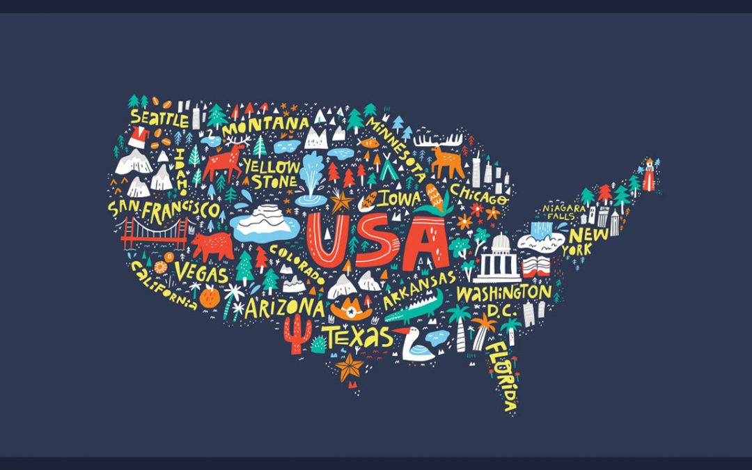 Online ASL Class – States & Places