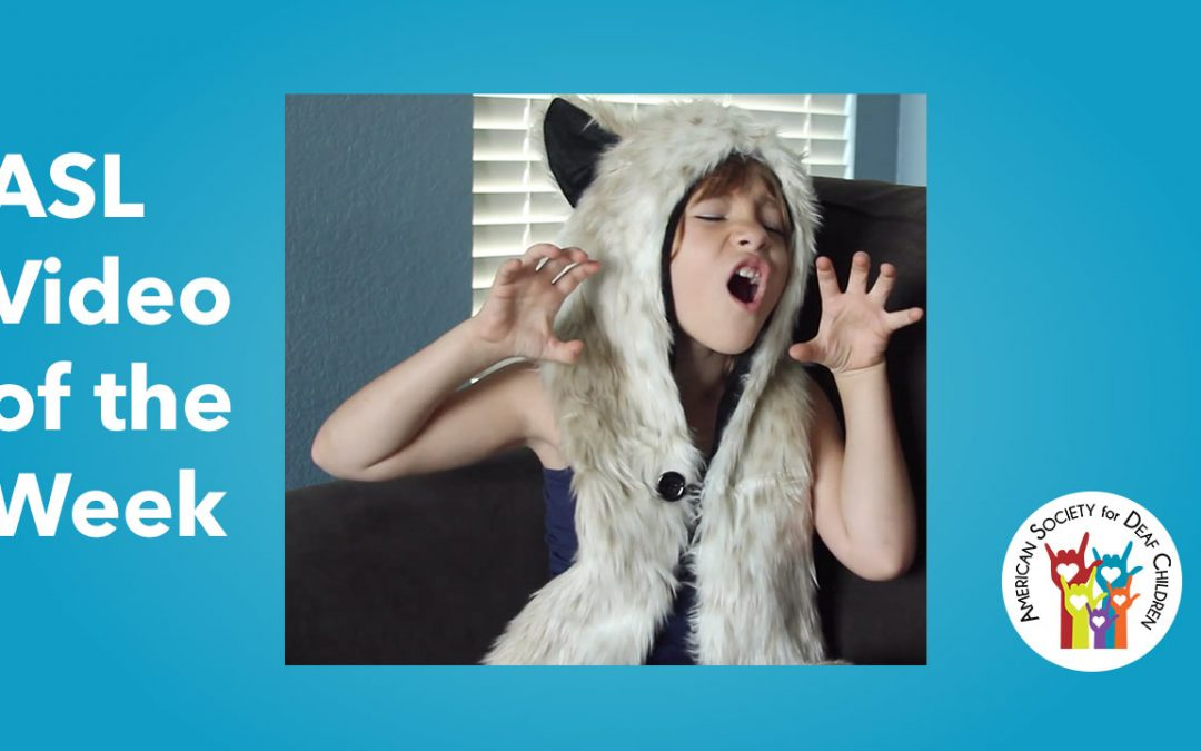 ASL Video of the Week: WHERE THE WILD THINGS ARE