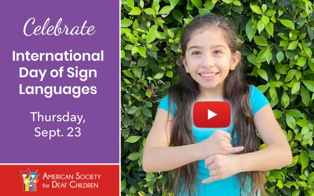 International Day of Sign Languages 2021